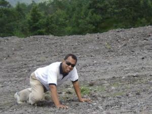 lahar dingin lereng selatan.....