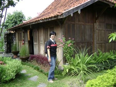 rumah inap tradisional limasan