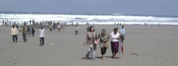 lautan hindia yang indah dan megah.....
